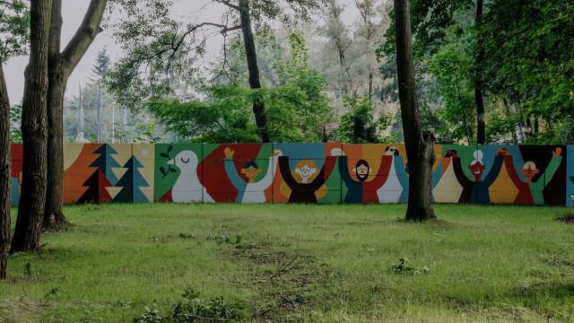 Pokojowy mural w Oświęcimiu już gotowy!