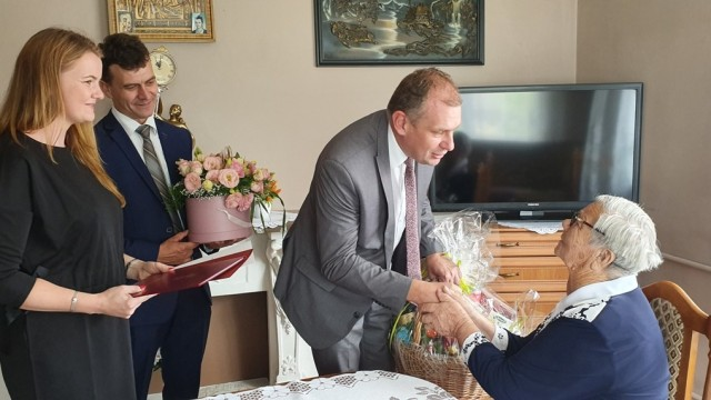 POLANKA WIELKA. Pani Zofia Nowak obchodziła swoje 100 urodziny