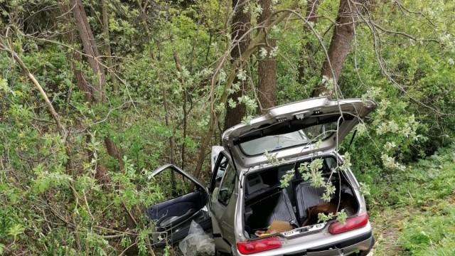 POLANKA WIELKA. W wypadku zginął 82 letni kierowca