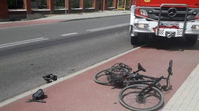 Policja zna już dane rannego rowerzysty