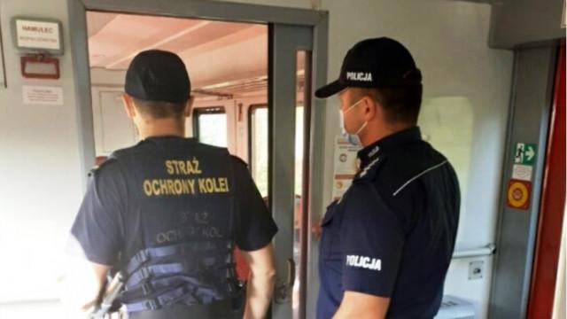 Policjanci razem z SOK-istami dbają o bezpieczeństwo pasażerów - InfoBrzeszcze.pl