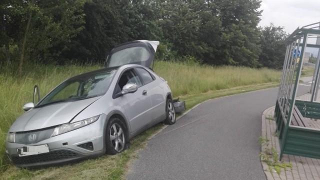 Policjanci ścigali pijanego kierowcę bez prawa jazdy