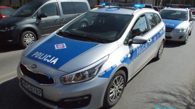 Policjanci szukają poszkodowanej