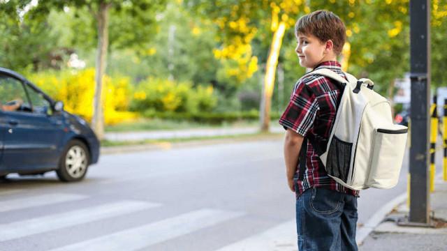 Policyjna akcja Bezpieczna droga do szkoły