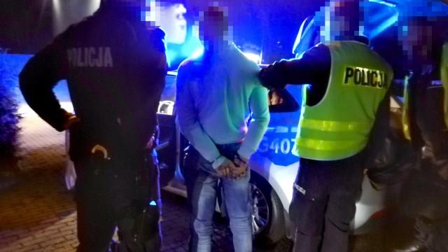 Policyjny pościg zakończony zatrzymaniem pijanego kierowcy – ZDJĘCIA!