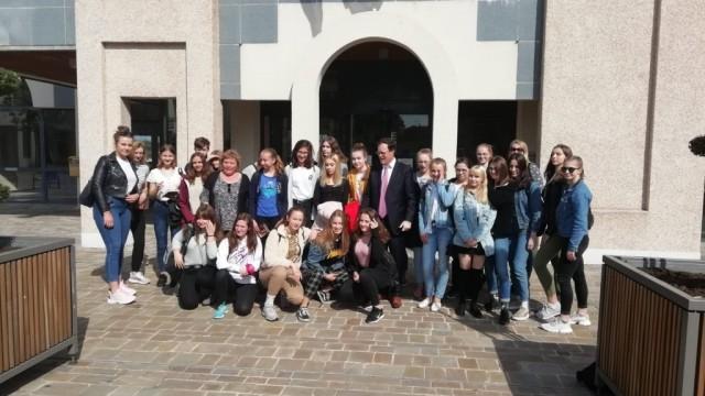 Polsko-francuska wymiana uczniów Dwójki – FILM, FOTO