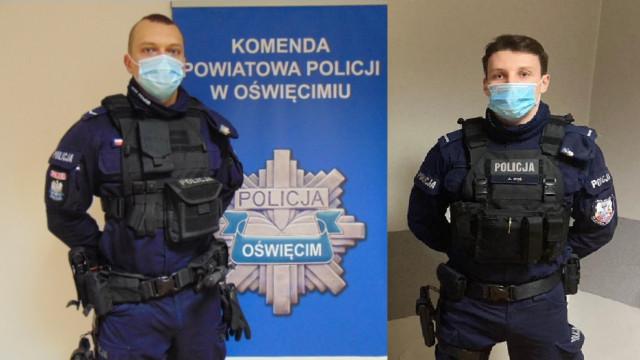 Pomagamy i chronimy. Seniorka podziękowała policjantom za błyskawiczną pomoc.