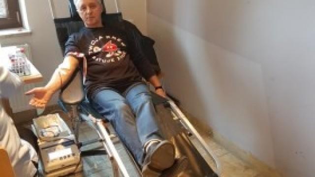 Ponad 16,5 litra krwi oddano podczas niedzielnej akcji w parafii NSPJ w Kętach