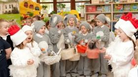 Poranek wielkanocny w przedszkolu w Witkowicach