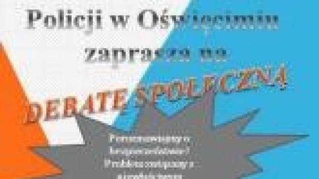 Porozmawiajmy o bezpieczeństwie. Zaproszenie na debatę społeczną do Polanki Wielkiej.