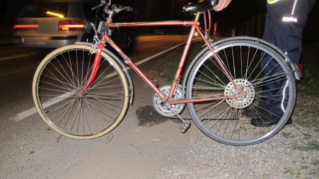 Potrącenie rowerzysty w Brzeszczach. ZDJĘCIA !