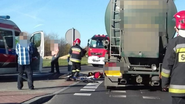 Poważny wypadek na DK44 w Oświęcimiu. ZDJĘCIA!