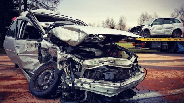 Poważny wypadek na DK44 w Oświęcimiu. ZDJĘCIA! FILM !