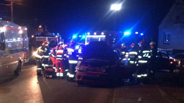 Poważny wypadek w Przeciszowie. Trwa akcja ratownicza – ZDJĘCIA!