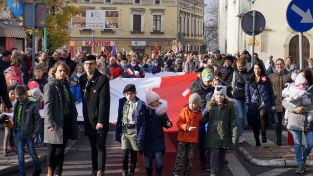 POWIAT. 101. rocznica odzyskania przez Polskę niepodległości