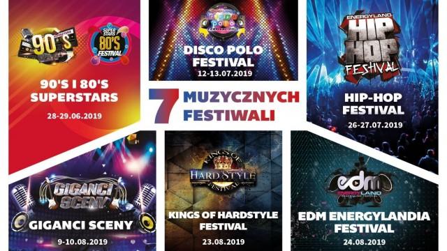 POWIAT. 7 festiwali – 10 dni koncertów w Energylandii