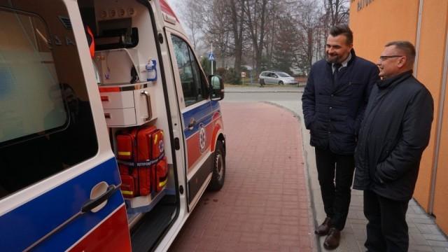 POWIAT. Nowy ambulans za 440 tys. zł będzie stacjonował w gminie Brzeszcze