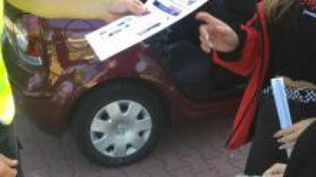 """Powiat oświęcimski.  Działania prewencyjne na drogach w ramach  """"Road Safety Days""""."""