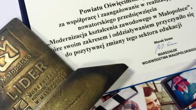 """Powiat Oświęcimski """"liderem modernizacji"""""""