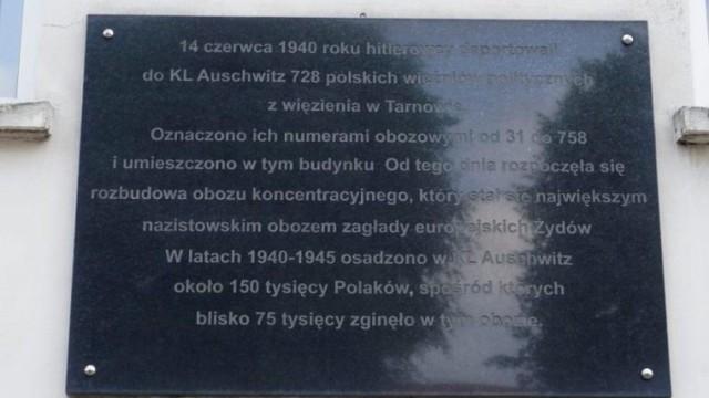 Powiat Oświęcimski od lat podtrzymuje pamięć o więźniach pierwszego transportu do KL Auschwitz