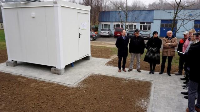 POWIAT. Stacja pomiaru zanieczyszczeń powietrza będzie gotowa już w styczniu