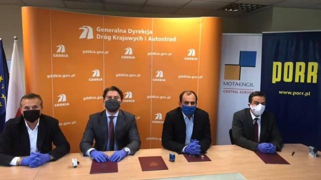 POWIAT. Umowa podpisana na budowę drogi S1 Oświęcim-Dankowice