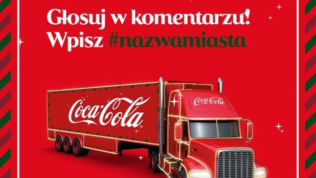 POWIAT. Zagłosuj, by świąteczna ciężarówka Coca-Coli odwiedziła Twoje miasto