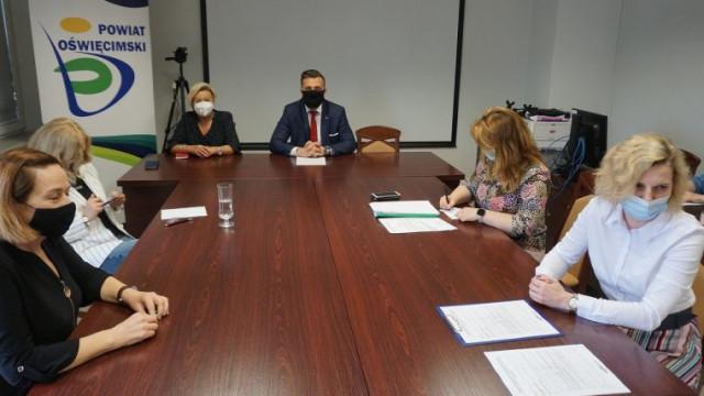 Powiatowe placówki oświatowe przygotowane na powrót uczniów