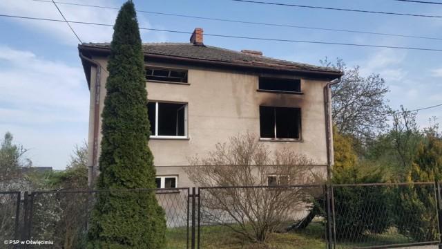 Pożar domu, potrzebna pomoc