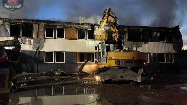 Pożar hotelu robotniczego w Pogorzycach. Pracownicy z Ukrainy nie trafili na bruk [ZDJĘCIA]