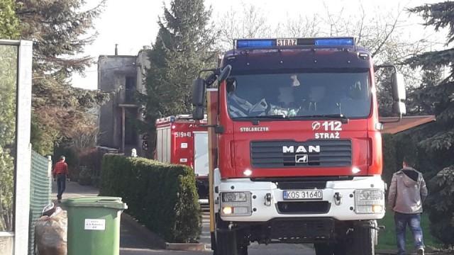 Pożar piwnicy w Kętach, do mieszkanki wezwano ZRM. ZDJĘCIA !