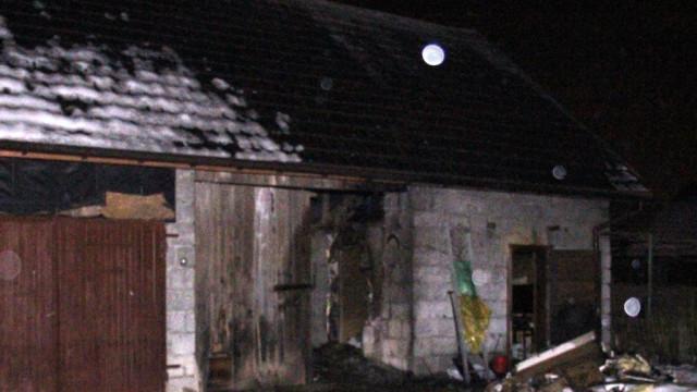 Pożar w Piotrowicach. Dym zabił mężczyznę