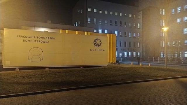 Prace przygotowawcze do montażu nowego Tomografu Komputerowego. - InfoBrzeszcze.pl