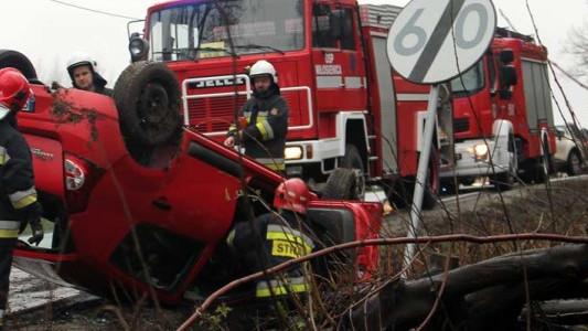 Pracowity strażacki weekend