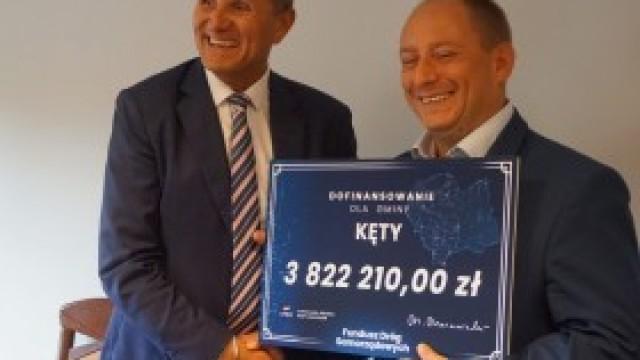 Prawie 4 mln złotych na budowę obwodnicy Kęt. To jedna z najwyższych dotacji w regionie