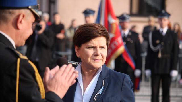 Premier Beata Szydło na obchodach Dnia Strażaka gminy Brzeszcze. ZDJĘCIA !