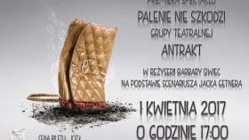 """Premiera spektaklu """"Palenie nie szkodzi"""" Grupy Teatralnej Antrakt"""