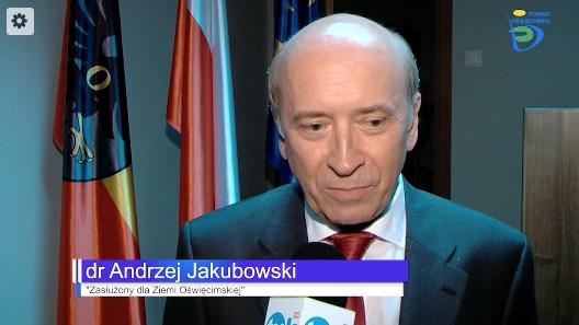 Prestiżowe wyróżnienie dla Andrzeja Jakubowskiego [ZOBACZ VIDEO]