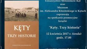"""Promocja nowego wydawnictwa TMK pt. """"Kęty. Trzy historie"""""""