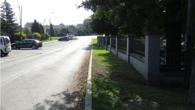 Przebudowa parkingu przy Cmentarzu Komunalnym w Brzeszczach rozpoczęta - InfoBrzeszcze.pl