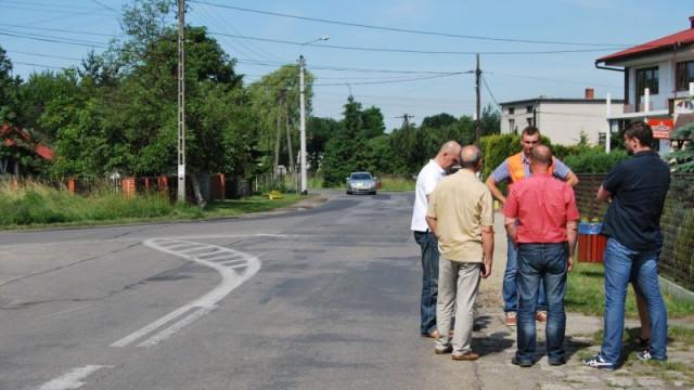Przebudowa ulicy Oświęcimskiej w Gorzowie i w Chełmku