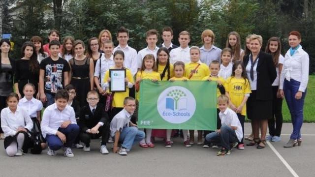 Przeciszów - Międzynarodowa Zielona Flaga dla dzieciaków z ZSPG