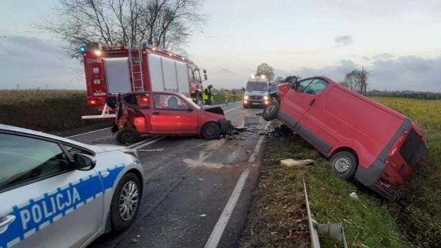 PRZECISZÓW. Poważny wypadek drogowy na DK 44