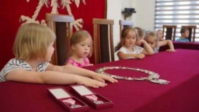 Przedszkolaki zwiedziły Urząd Gminy Kęty