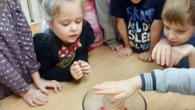 Przedszkole pełne eksperymentów