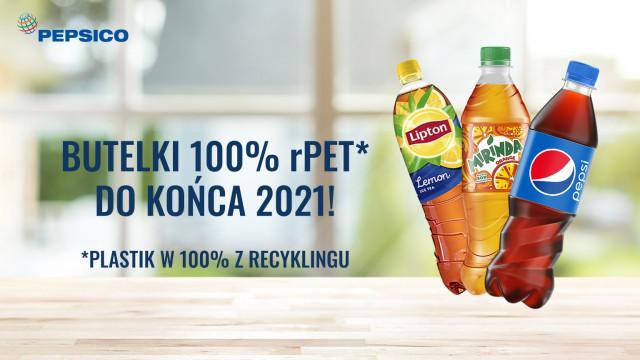 Przełom w PepsiCo – butelki Pepsi wykonane będą w 100% z rPET do końca 2021 roku