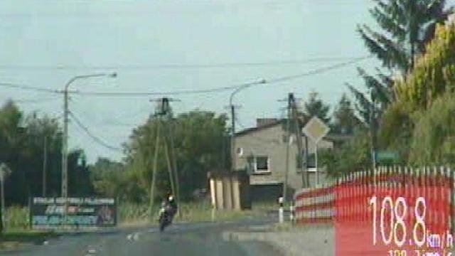 Przestępca drogowy na ścigaczu wpadł w ręce policjantów grupy Speed