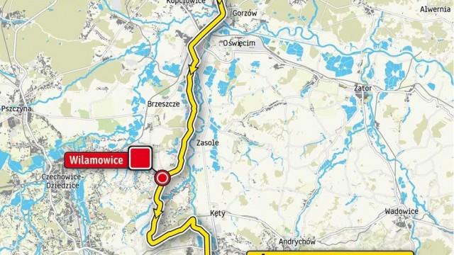 Przez powiat oświęcimski przejedzie IV etap wyścigu kolarskiego 76. TOUR DE POLOGNE 2019 – MAPA, UTRUDNIANIA!