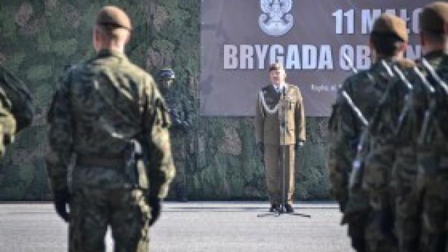 Przysięga i szkolenie małopolskich Terytorialsów