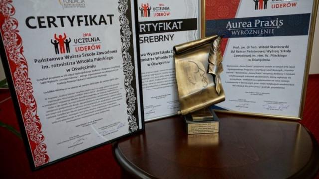 PWSZ im. rtm. W. Pileckiego w Oświęcimiu Uczelnią Liderów 2018!